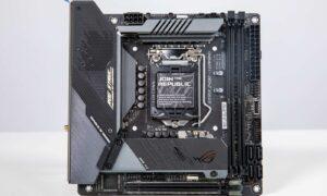 Placa de baza ROG Strix Z490i Gaming