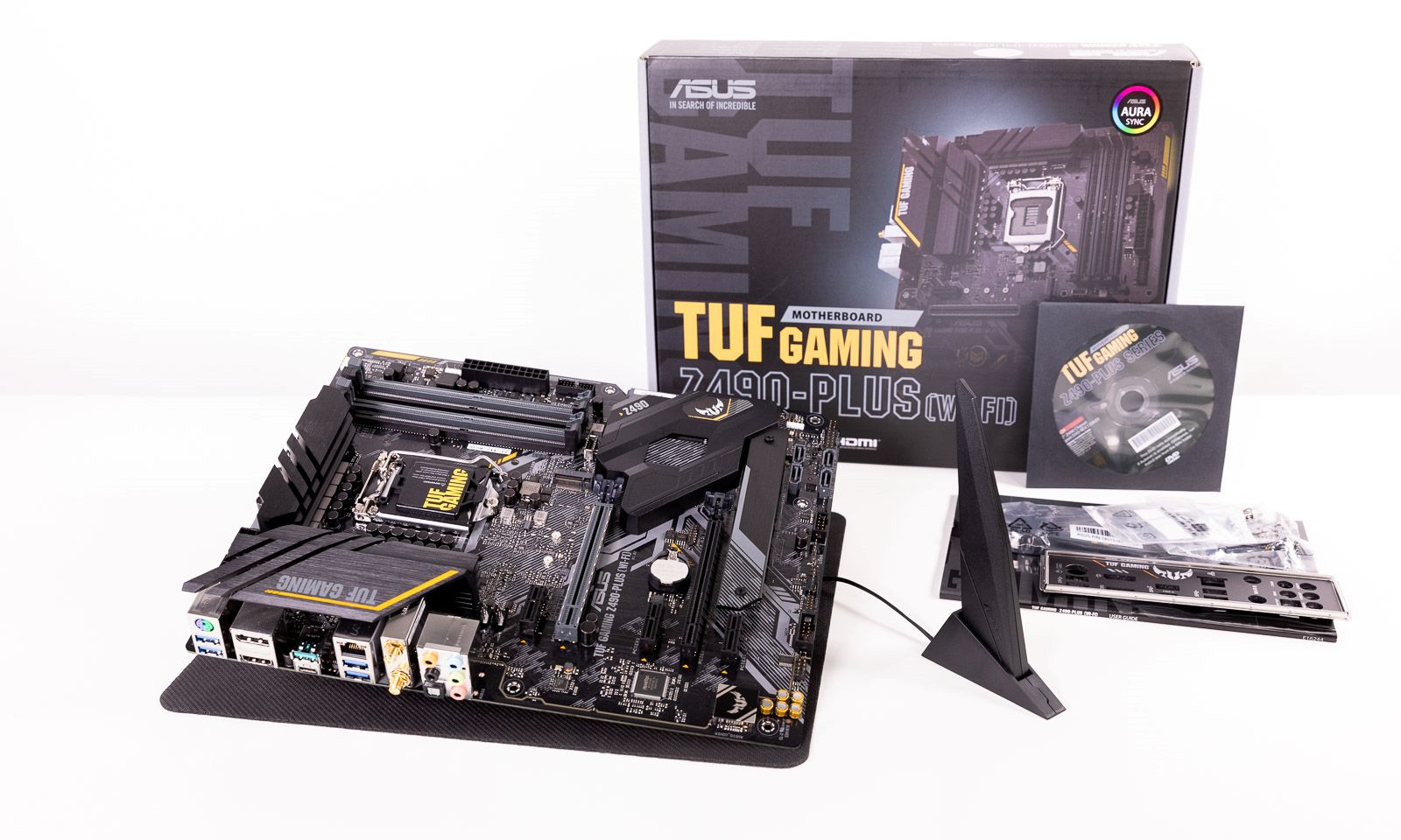Placa de bază TUF Gaming Z490-Plus WiFi