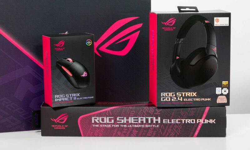 Noua gamă ROG Strix Electro Punck