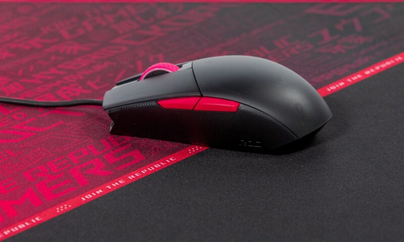 Mouse de gaming ROG Strix Impact II Electro Punk
