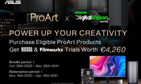 ASUS ProArt și Digital Vision World