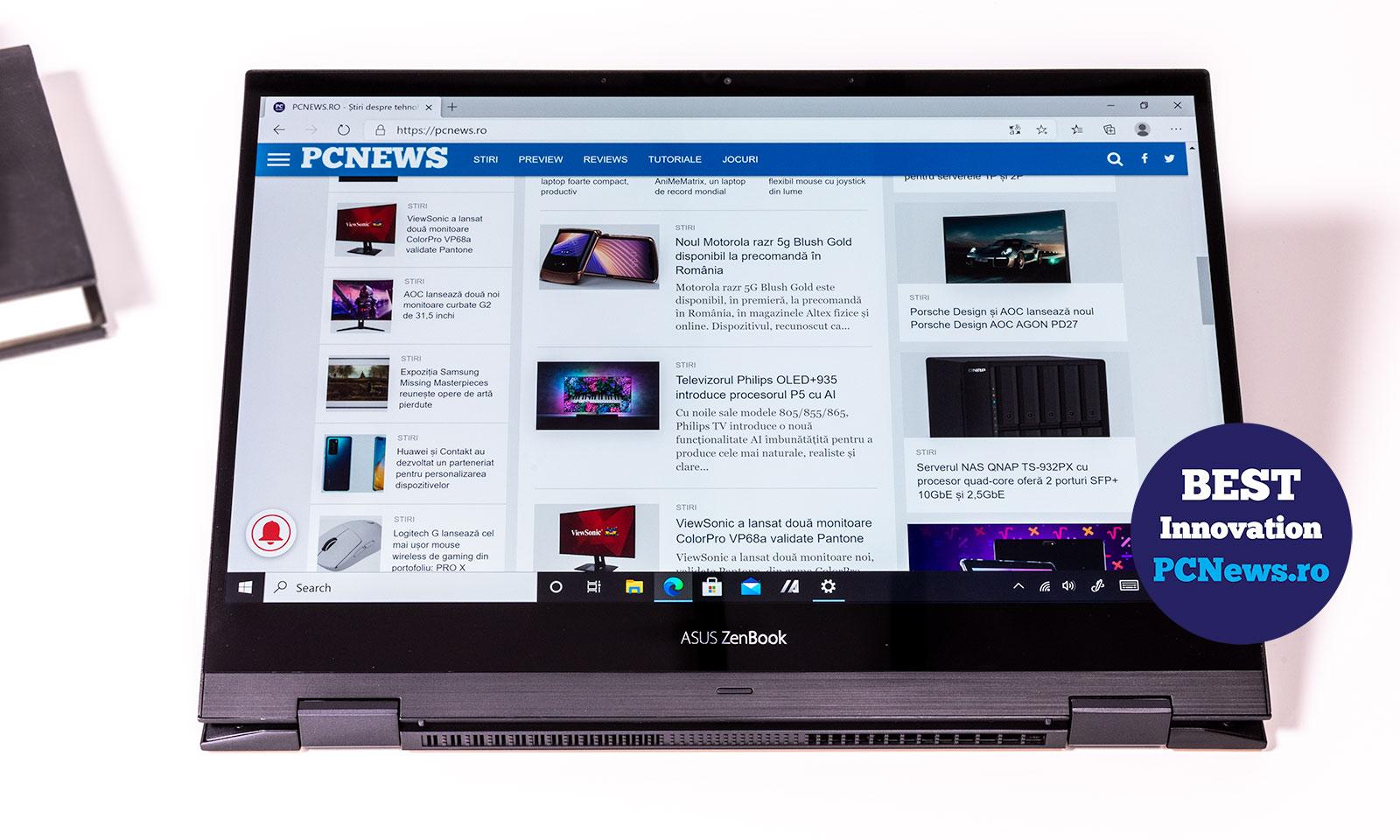 Preview laptop ZenBook Flip S UX371