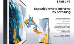 Samsung #NoteToFrame