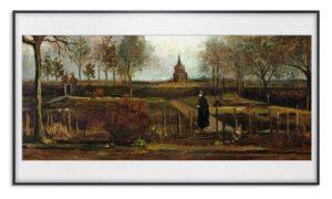 Grădina Parsonage de la Nuenen în primăvară (1884) - Vincent van Gogh