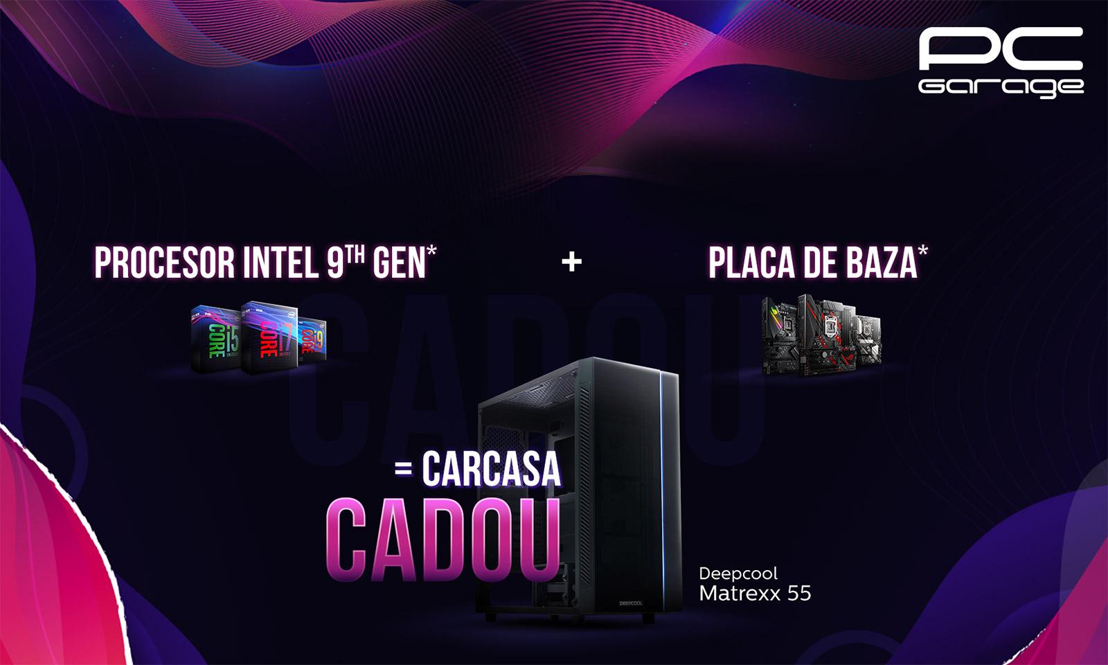 Campania PC Garage Te echipăm Gratuit - Intel Edition