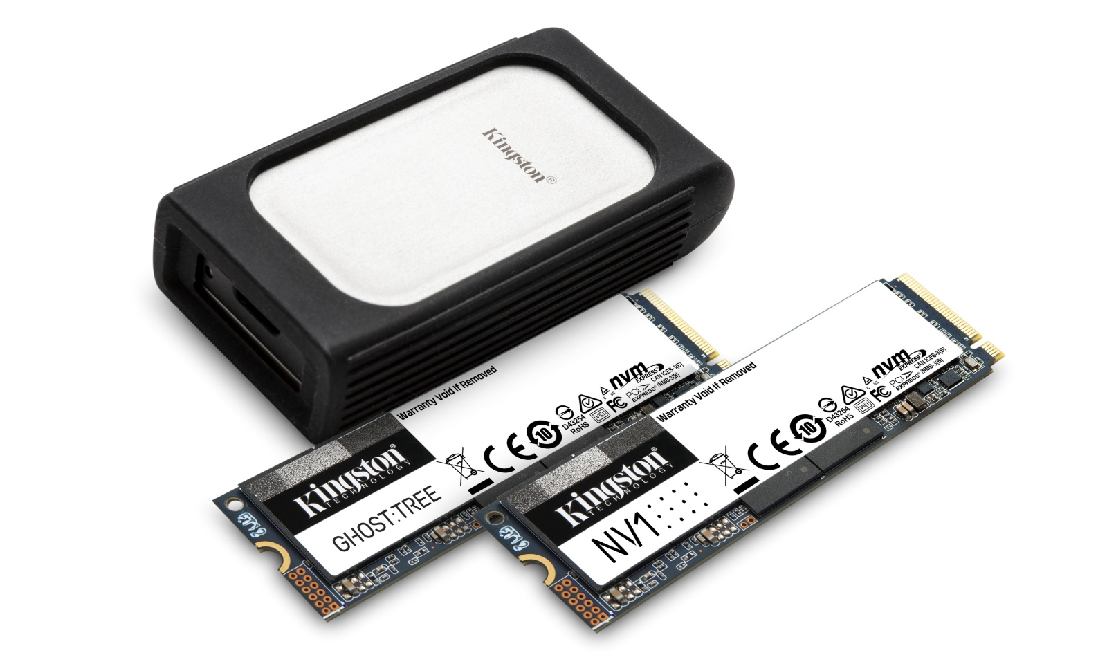 Kingston intră pe piața SSD-urilor NVMe