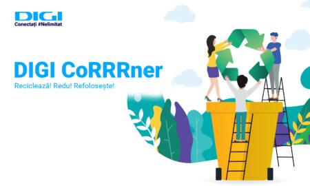 Digi Corrrner - demers eco pentru colectare deseuri