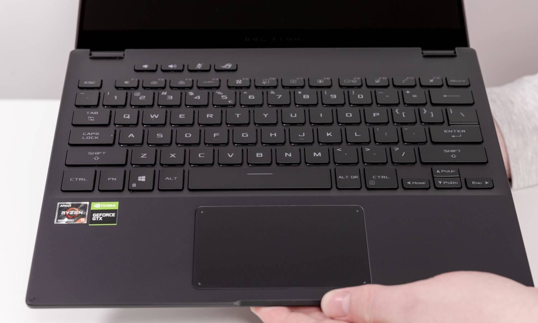 Tastatura lui ROG Flow X13