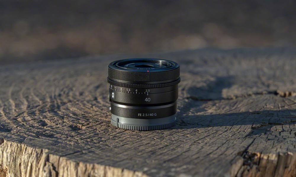 Obiectiv Sony SEL40F25G