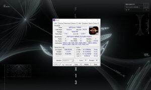 CPU-Z ROG Flow X13 - procesor