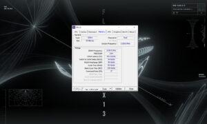 CPU-Z ROG Flow X13 - RAM