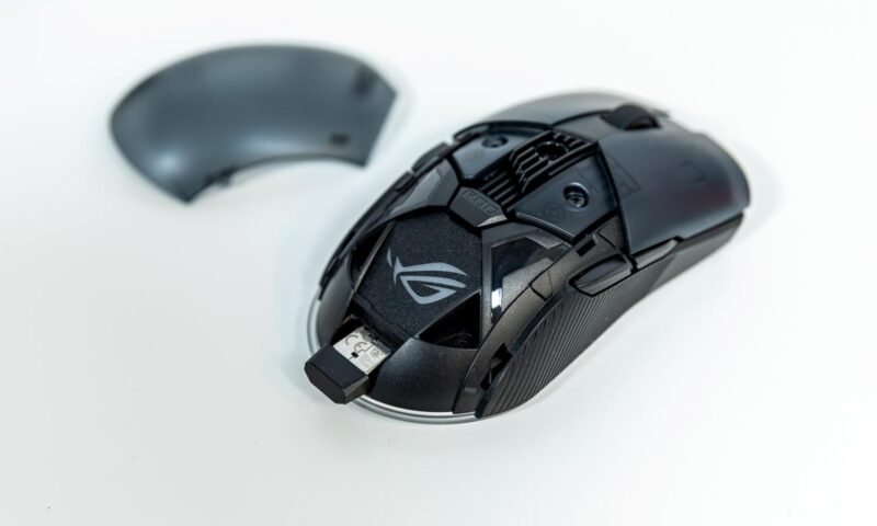 Mouse de gaming ROG Pugio II