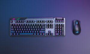 Tastatura de gaming Claymore II și mouseul de gaming Gladius III