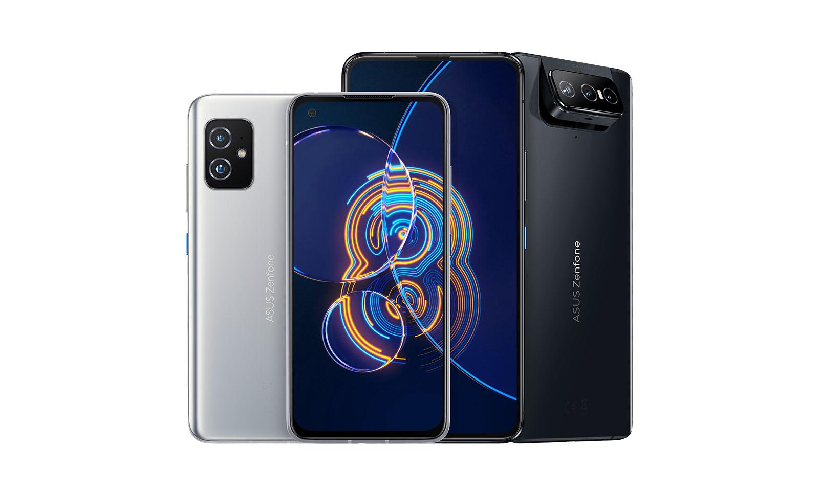 Telefoanele Zenfone 8 și Zenfone 8 Flip
