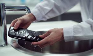 Telefon CAT rugged antibacterian