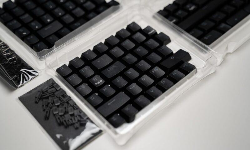 Capace taste ROG PBT Doubleshot Keycap Set