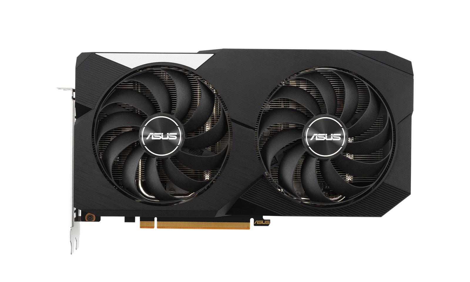 ASUS Dual AMD Radeon RX 6600 XT OC