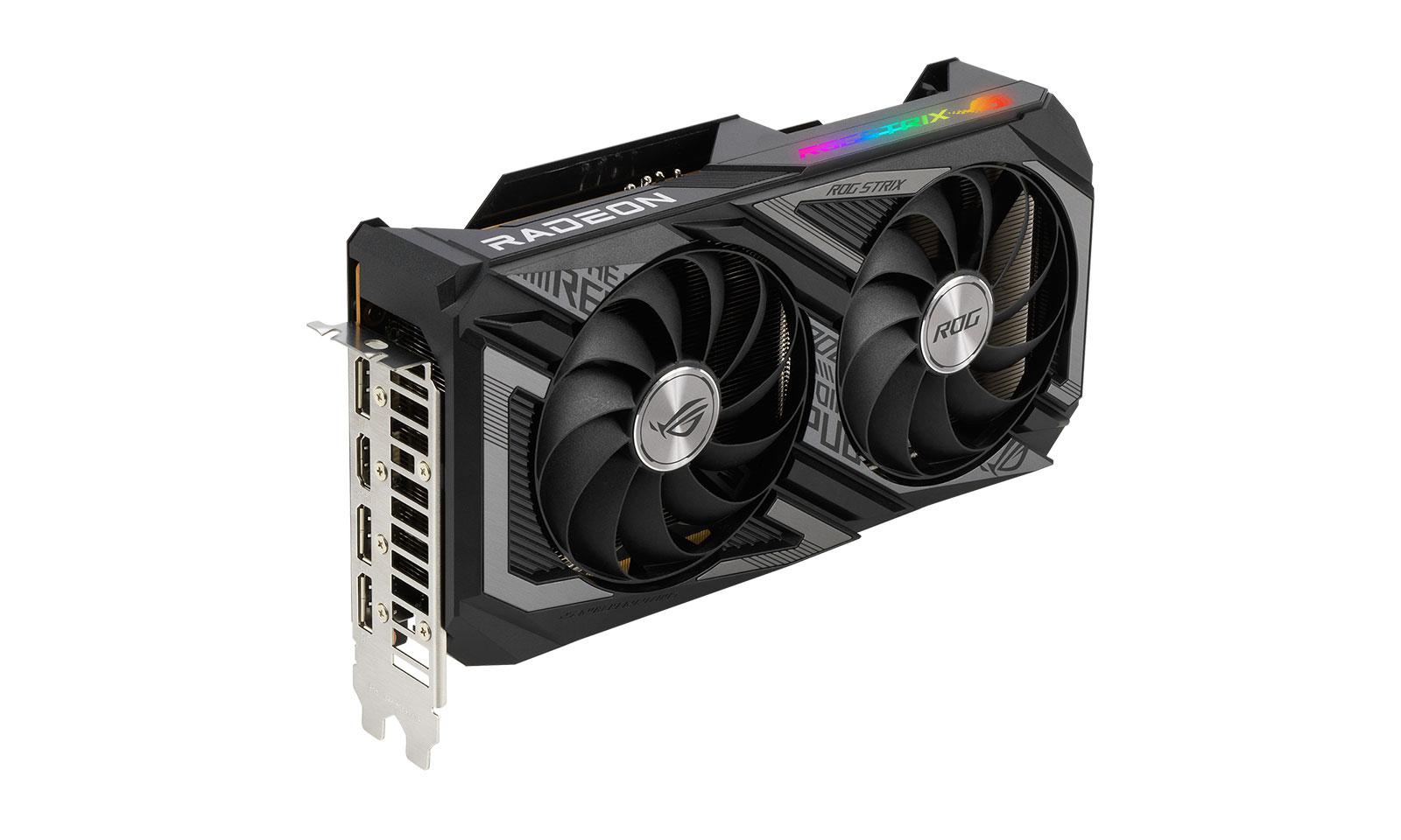 Placa grafică ROG Strix AMD Radeon RX 6600 XT