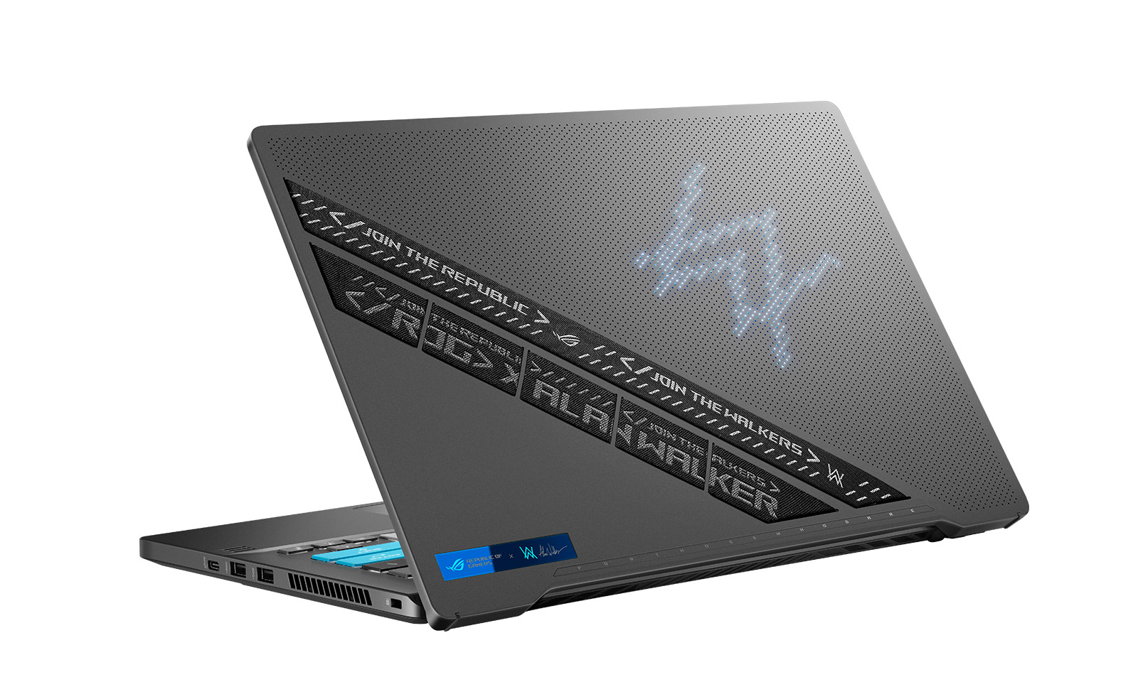 Laptopul de gaming ROG Zephyrus G14 Alan Walker Special Edition