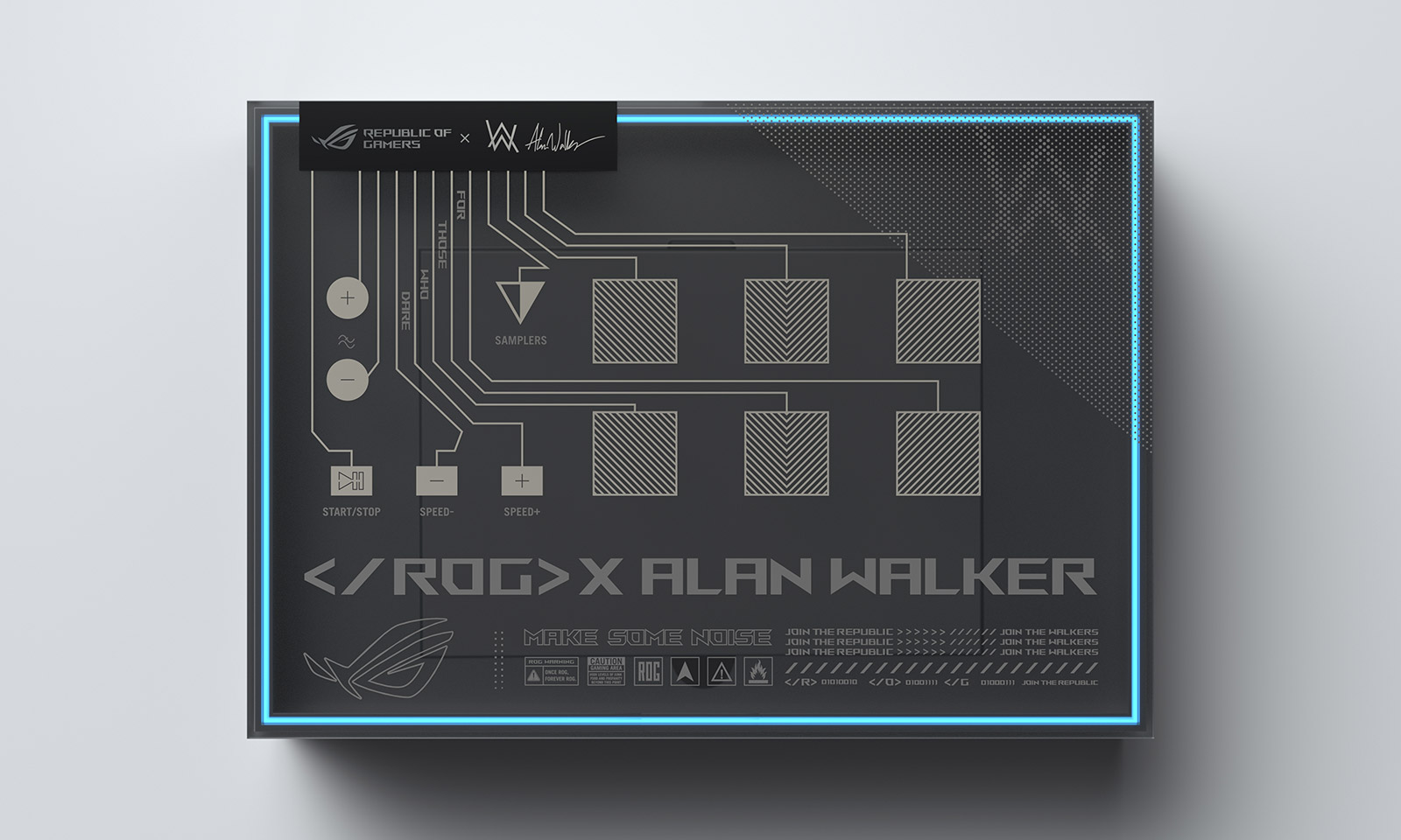 Cutia ROG Remix a laptopului Zephyrus G14 Alan Walker Special Edition