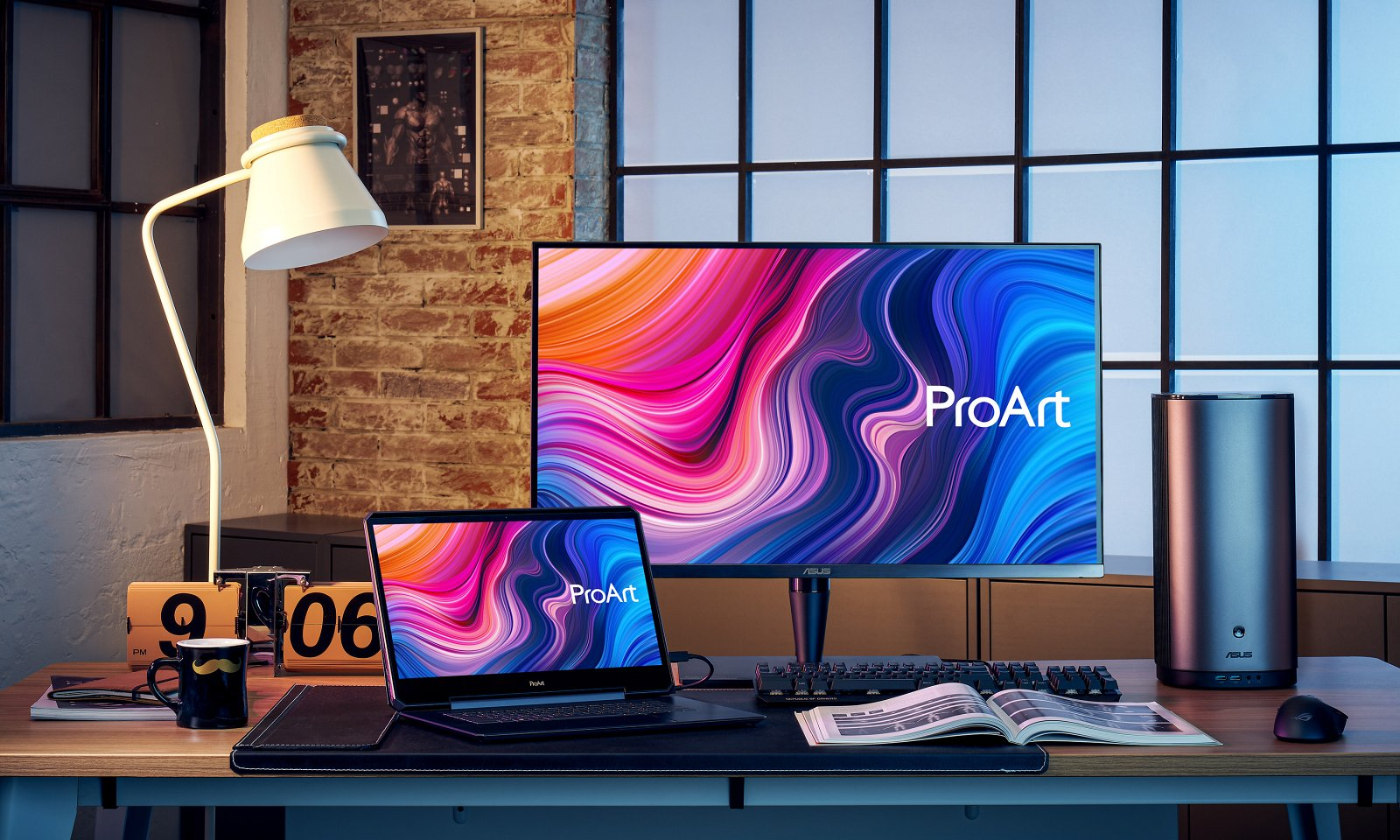 monitorul ProArt Display PA32UCG