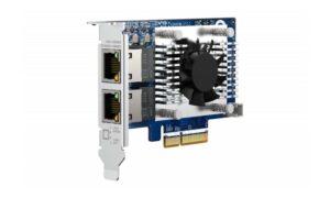 QNAP QXG-10G2TB, placă de rețea cu 2 porturi 10GbE BASE-T