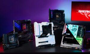 Republic of Gamers a prezentat plăci de bază Intel ROG